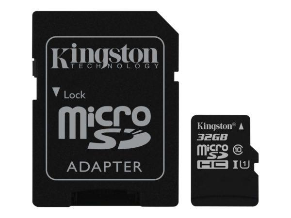 Kingston Canvas Select microSDHC 32GB UHS Class 1 / Class10