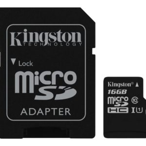 Kingston Canvas Select microSDHC 16GB UHS-I U1 / Class10