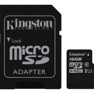 Kingston Canvas Select microSDHC 16GB UHS-I U1 / Class10