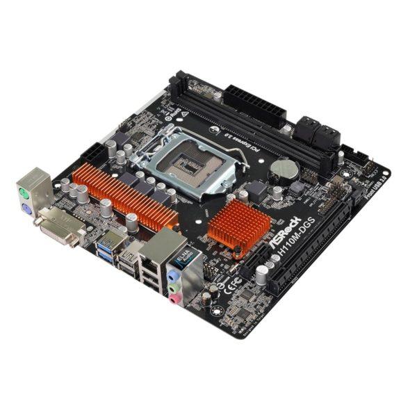 ASRock H110M-DGS Micro-ATX