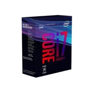 Intel CPU Core I7-8700K 3.7GHz