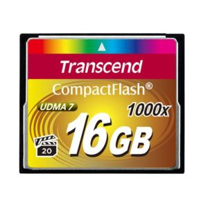 Transcend Ultimate Compact Flash kort 16GB 1000x