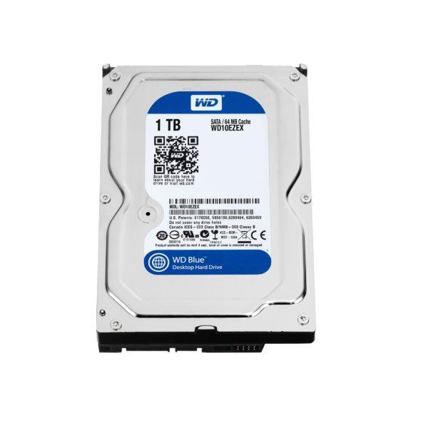 "WD Blue Harddisk WD10EZEX 1TB 3.5"""