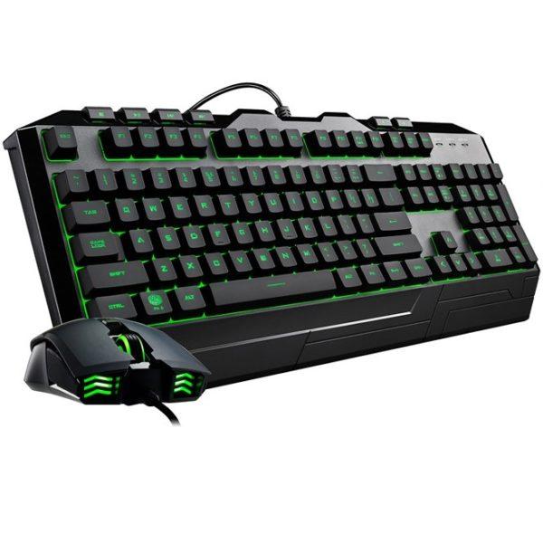 Cooler Master Devastator 3 Tastatur og mus-sæt Gummitrykknap 7 farver